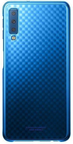 Купить Чехлы для мобильных телефонов, Чехол Samsung Gradation Cover для Samsung Galaxy A7 2018 A750F (EF-AA750CLEGRU) Blue