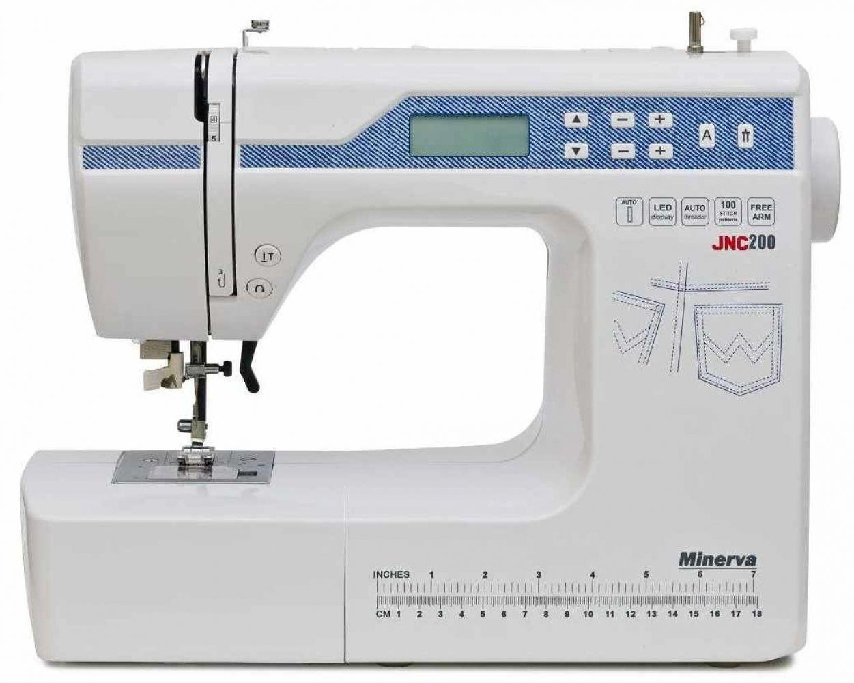 Швейные машинки, Швейная машина Minerva JNC 200  - купить со скидкой