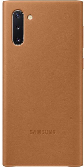 Чехол Samsung Leather Cover для Samsung Galaxy Note 10 (EF-VN970LAEGRU) Sand-Beige от Територія твоєї техніки