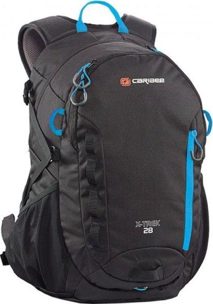 Спортивные сумки, Рюкзак Caribee X-Trek 28 (924053) Black/Ice Blue  - купить со скидкой