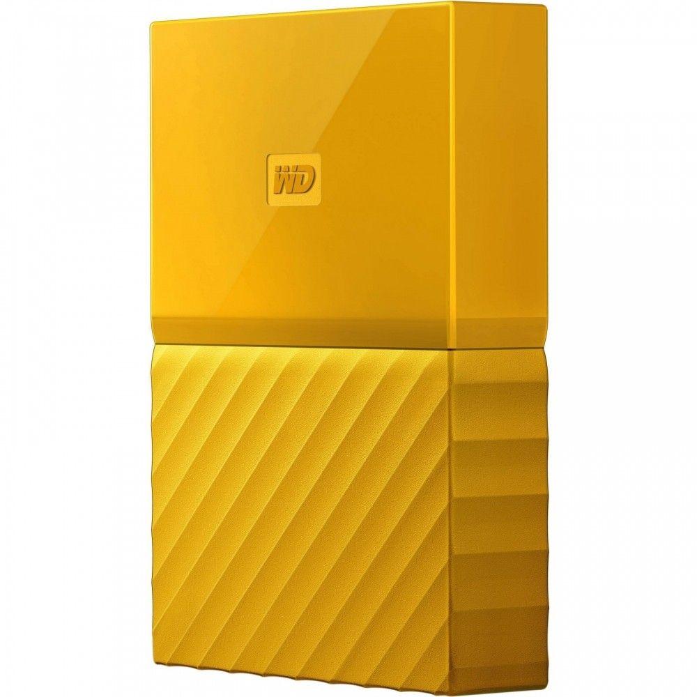 Жесткий диск Western Digital My Passport 2TB WDBYFT0020BYL-WESN 2.5 USB 3.0 External Yellow  - купить со скидкой
