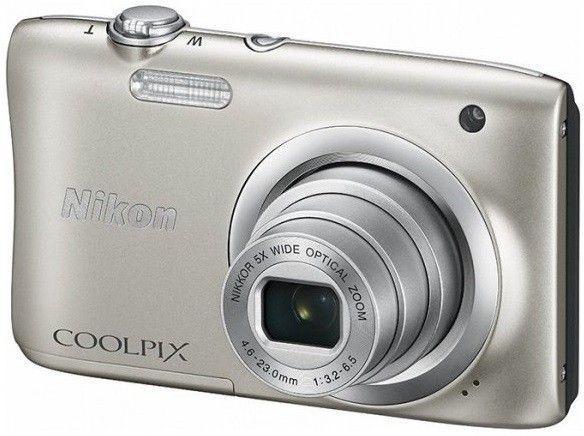 Купить Фотоаппарат Nikon Coolpix A100 (VNA970E1) Silver