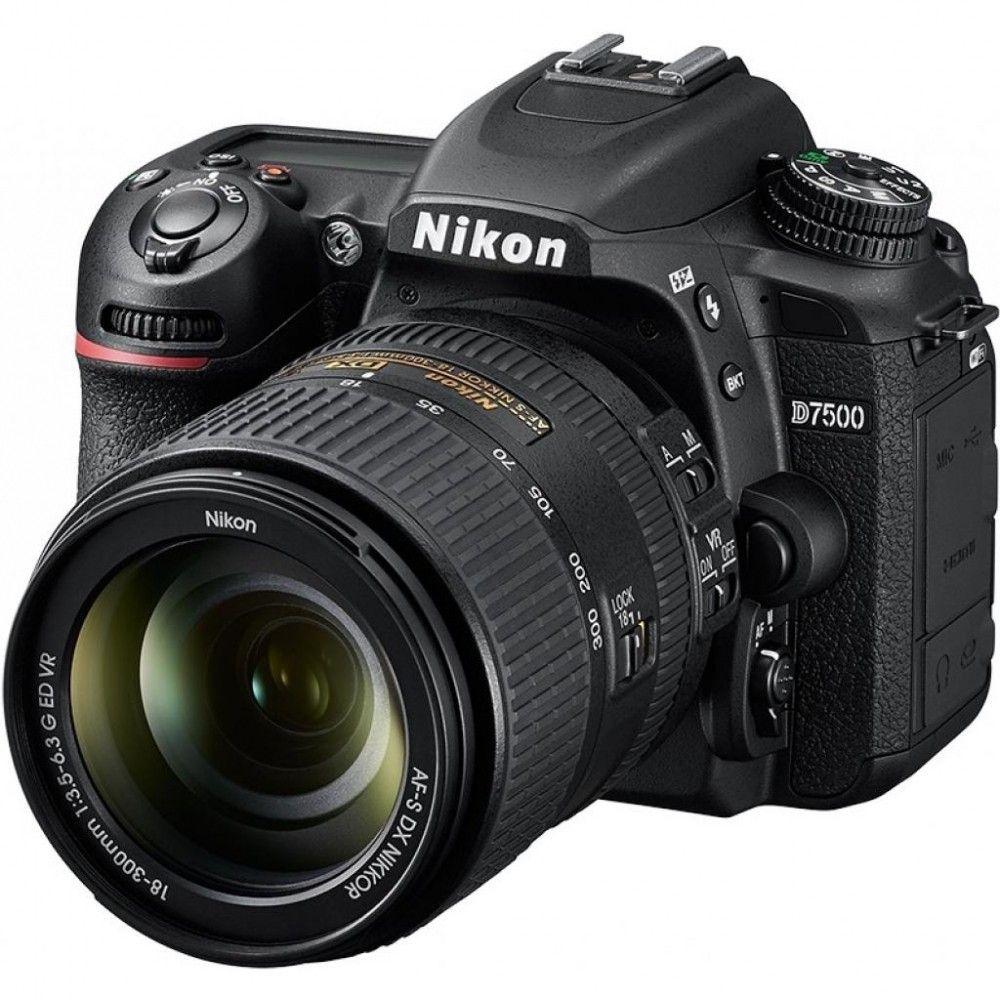Фотоаппарат Nikon D7500 Kit 18-105VR (VBA510K001)  - купить со скидкой