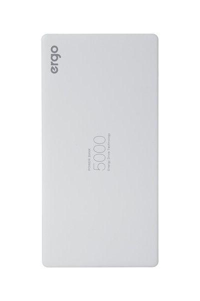 Купить Внешний аккумулятор ERGO LP-91 5000 mAh White