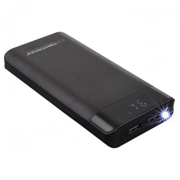 Купить Внешний аккумулятор Esperanza Photon 17400 mAh (EMP120K) Black