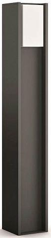 Купить Умные светильники, Смарт-светильник PHILIPS Turaco post 1x9.5W 230V (16474/93/P0) Anthracite