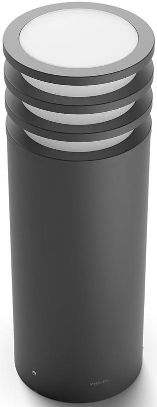 Умные светильники, Смарт-светильник PHILIPS Lucca pedestal 1x9.5W 230V (17402/93/P0) Anthracite  - купить со скидкой
