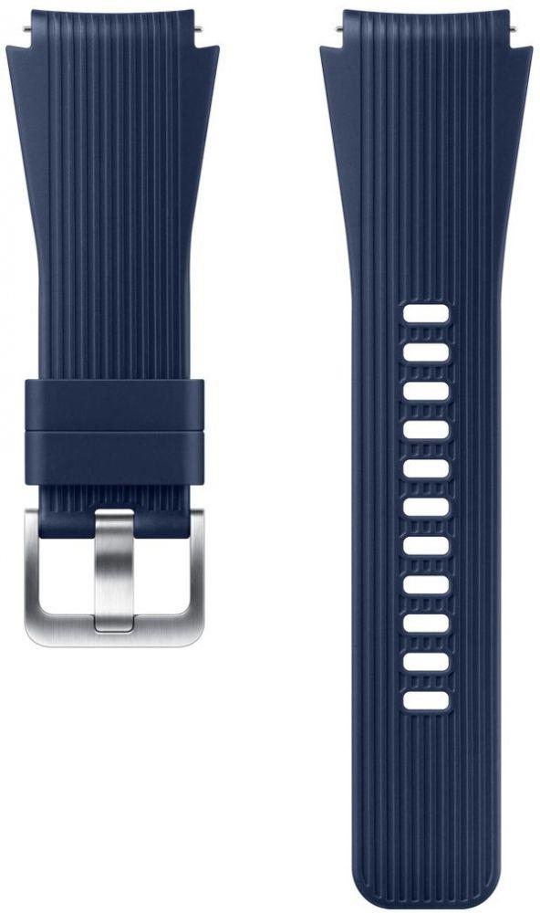 Аксессуары для смарт-часов и смарт-браслетов, Ремешок Samsung для Galaxy Watch 46 mm (ET-YSU80MLEGRU) Blue  - купить со скидкой