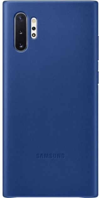 Чехол Samsung Leather Cover для Samsung Galaxy Note 10 Plus (EF-VN975LLEGRU) Blue от Територія твоєї техніки