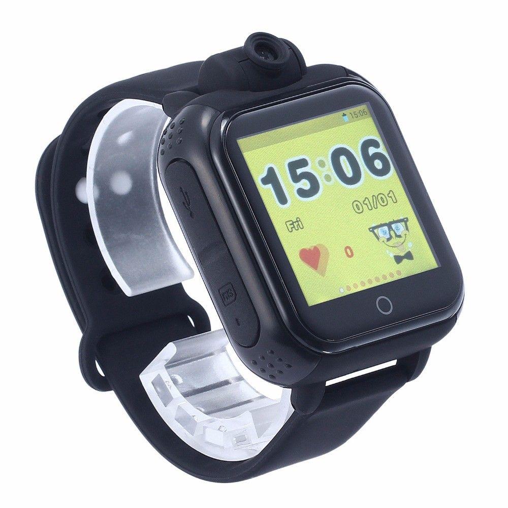 Купить Детские умные часы с GPS-трекером TD-07 (Q20) Black, Smart Baby Watch
