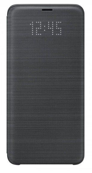 Чехол-Книжка Samsung LED View Cover S9 Plus Black (EF-NG965PBEGRU) от Територія твоєї техніки