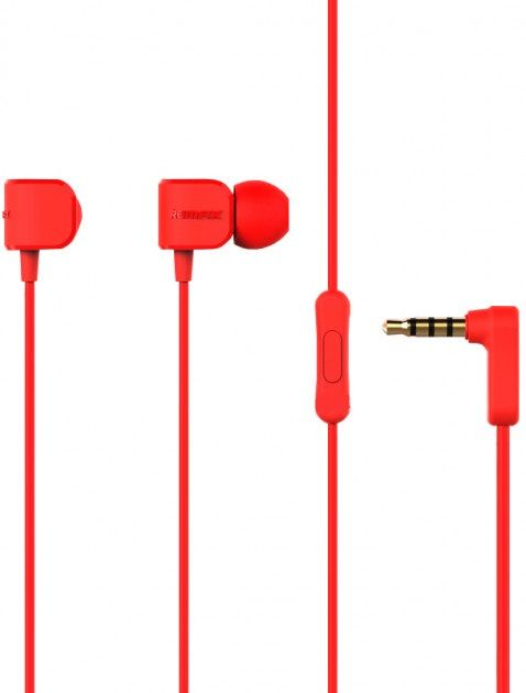Купить Наушники и гарнитуры, Наушники Remax RM-502 Earphone Red