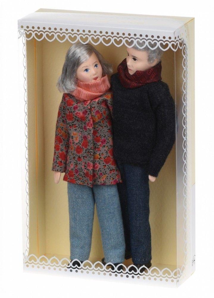 Купить Куклы, Набор кукол Nic Бабушка и дедушка (NIC31311)
