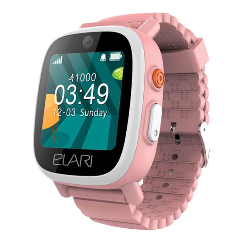 Купить Смарт часы, Детский телефон-часы с GPS трекером FIXITIME 3 (ELFIT3PNK) Pink