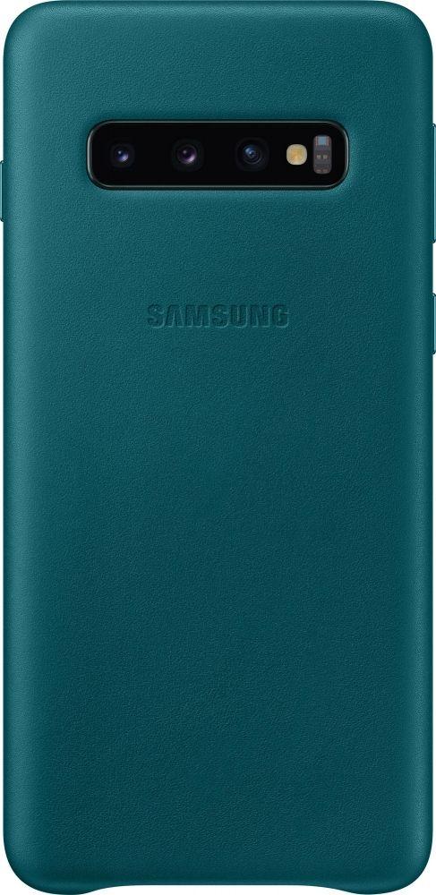 Панель Samsung Leather Cover для Samsung Galaxy S10 (EF-VG973LGEGRU) Green от Територія твоєї техніки