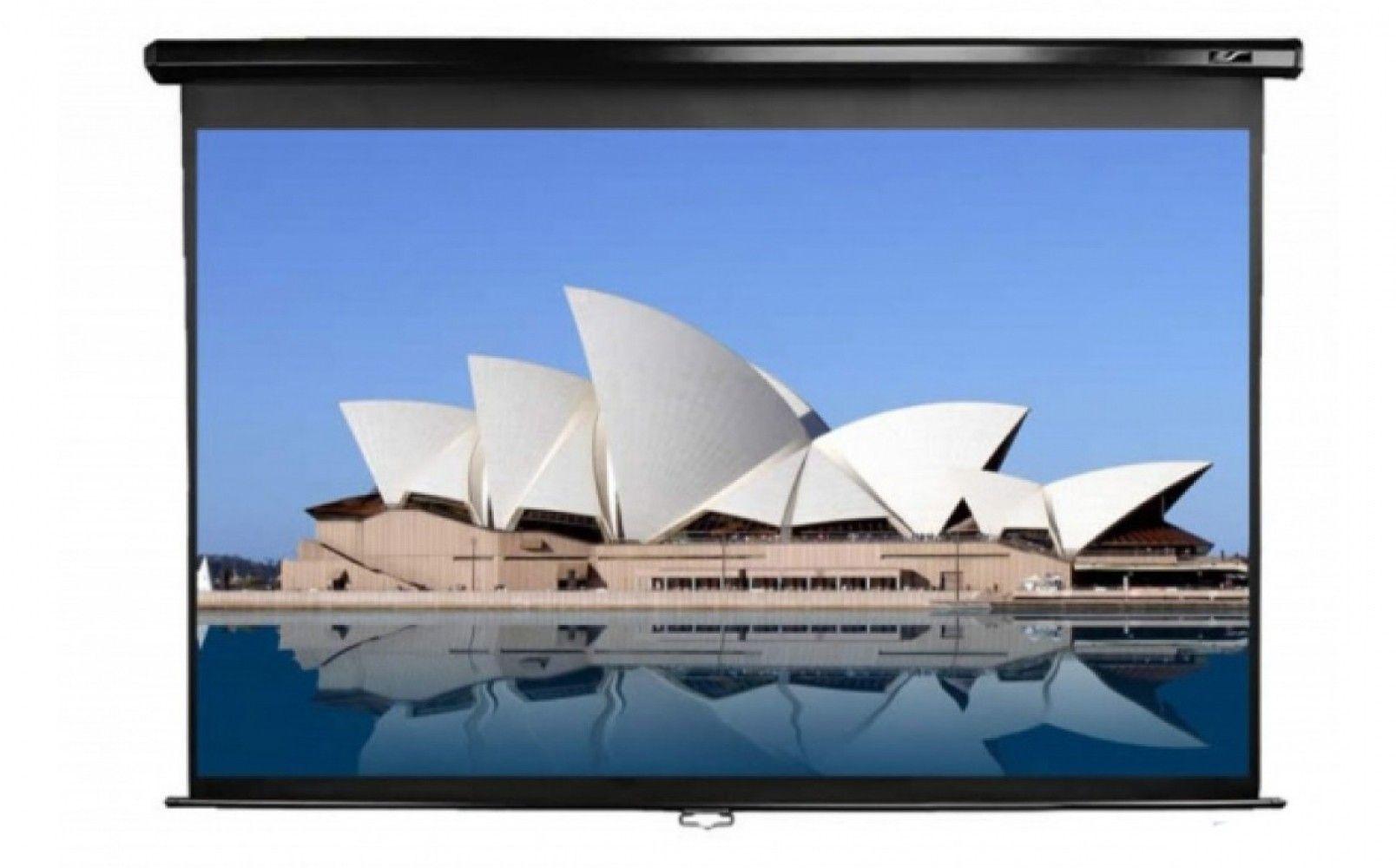 Купить Проекционный настенный экран Elite Screens (M150UWH2) Black Case