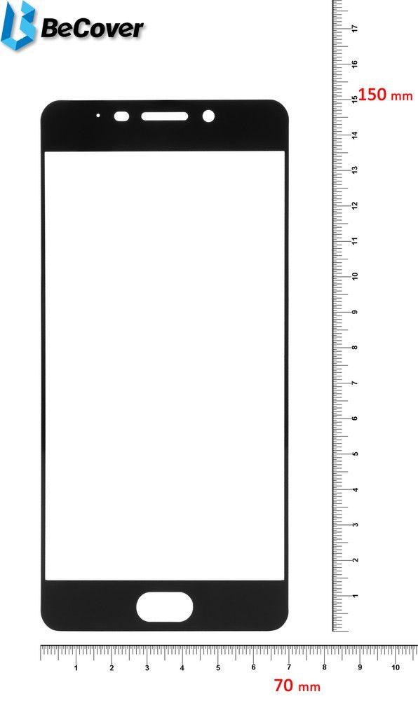 Купить Защитное стекло BeCover для Meizu M6 Note Black (701523)