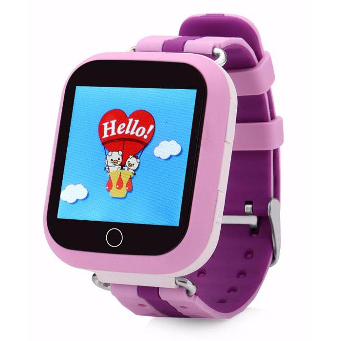 Купить Детские умные часы с GPS-трекером Motto TD-10 (Q150) Pink