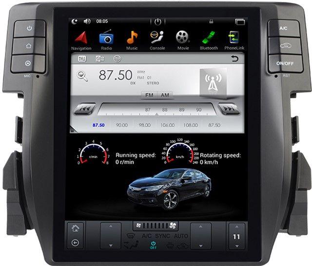 Купить Автомагнитолы, Автомагнитола штатная Gazer CM7010-FB4 для Honda Civic (FB4) 2016-2017
