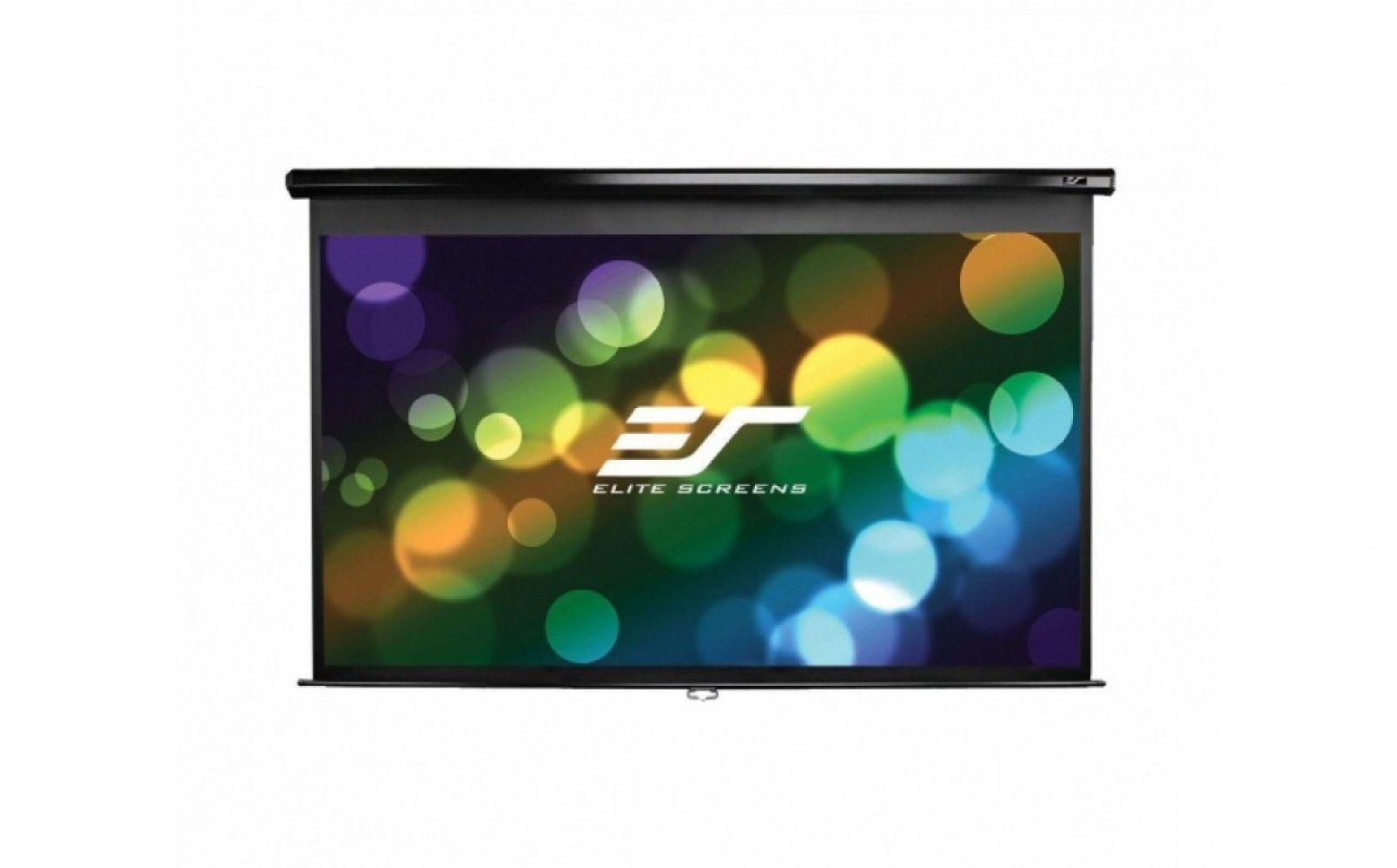 Купить Проекционный экран Elite Screens с механизмом возврата (M94NWX) White case