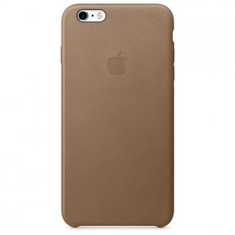 Чехол для Apple iPhone 6s Plus Leather Case Brown (MKX92) - 27879