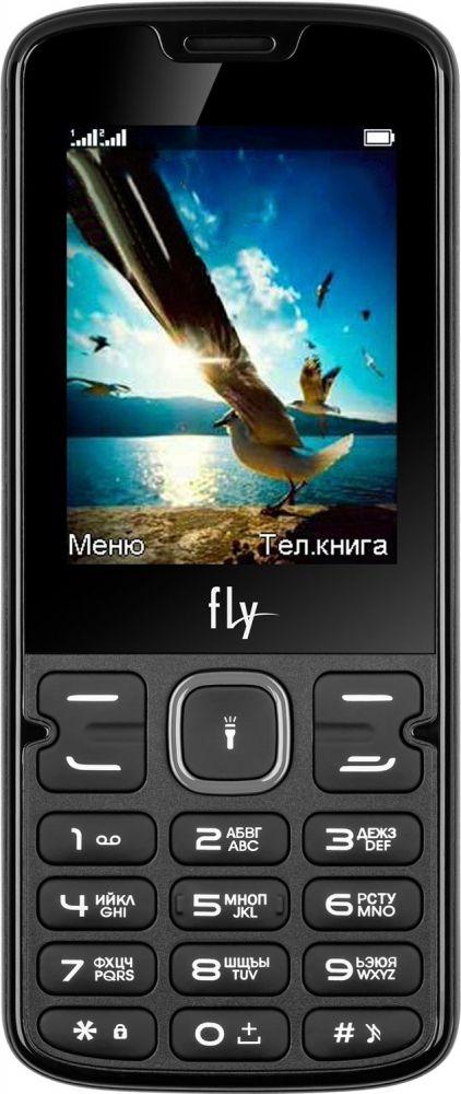 Купить Кнопочные телефоны, Мобильный телефон Fly FF250 Black