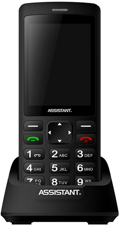 Купить Мобильный телефон Assistant AS-202 Classic Black