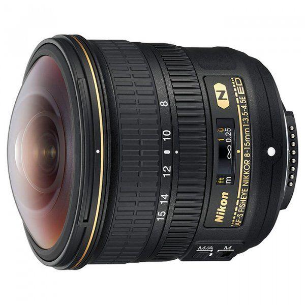 Купить Объектив Nikon AF-S Nikkor Fisheye 8-15mm f/3.5-4.5E ED (JAA831DA)