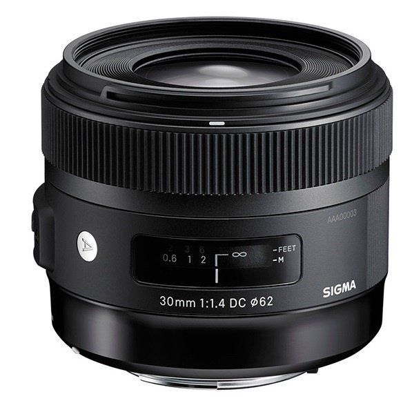 Купить Объектив Sigma AF 30mm f/1.4 EX DC HSM Art Canon (301954)