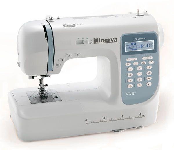 Купить Швейные машинки, Швейная машина Minerva MC197HC