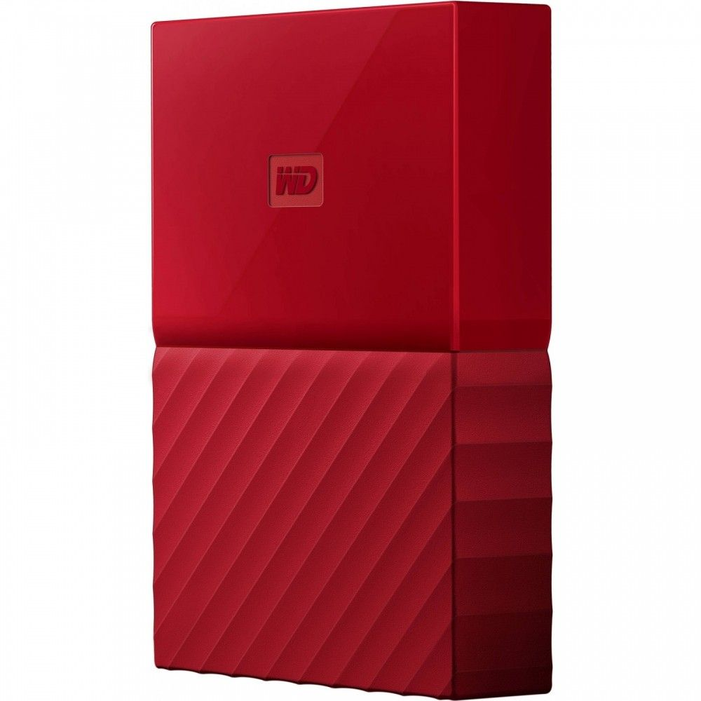 Купить Жесткие диски, Жесткий диск Western Digital My Passport 1TB WDBYNN0010BRD-WESN 2.5 USB 3.0 External Red