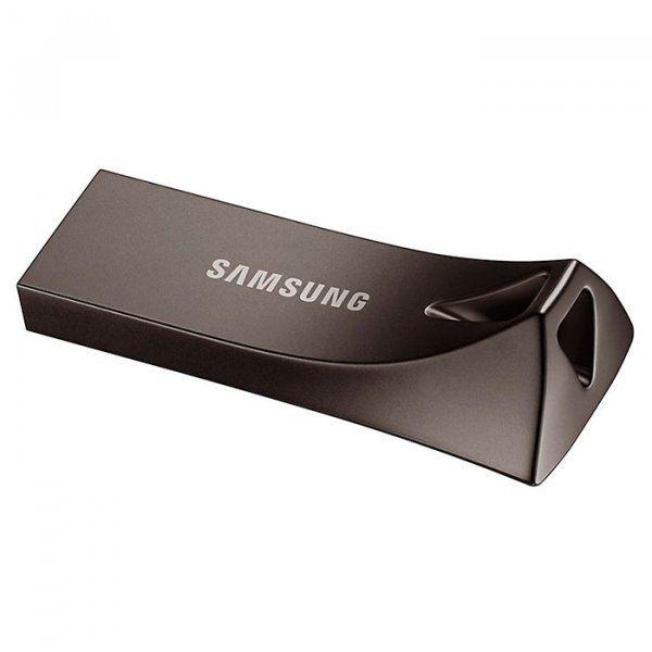 USB флеш накопитель Samsung Bar Plus USB 3.1 64GB (MUF-64BE4/APC) Black от Територія твоєї техніки