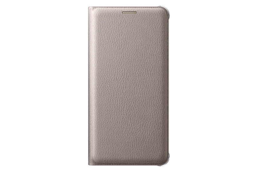 Чехол Samsung Flip Wallet для Galaxy S7 Edge Gold (EF-WG935PFEGRU) - 27705
