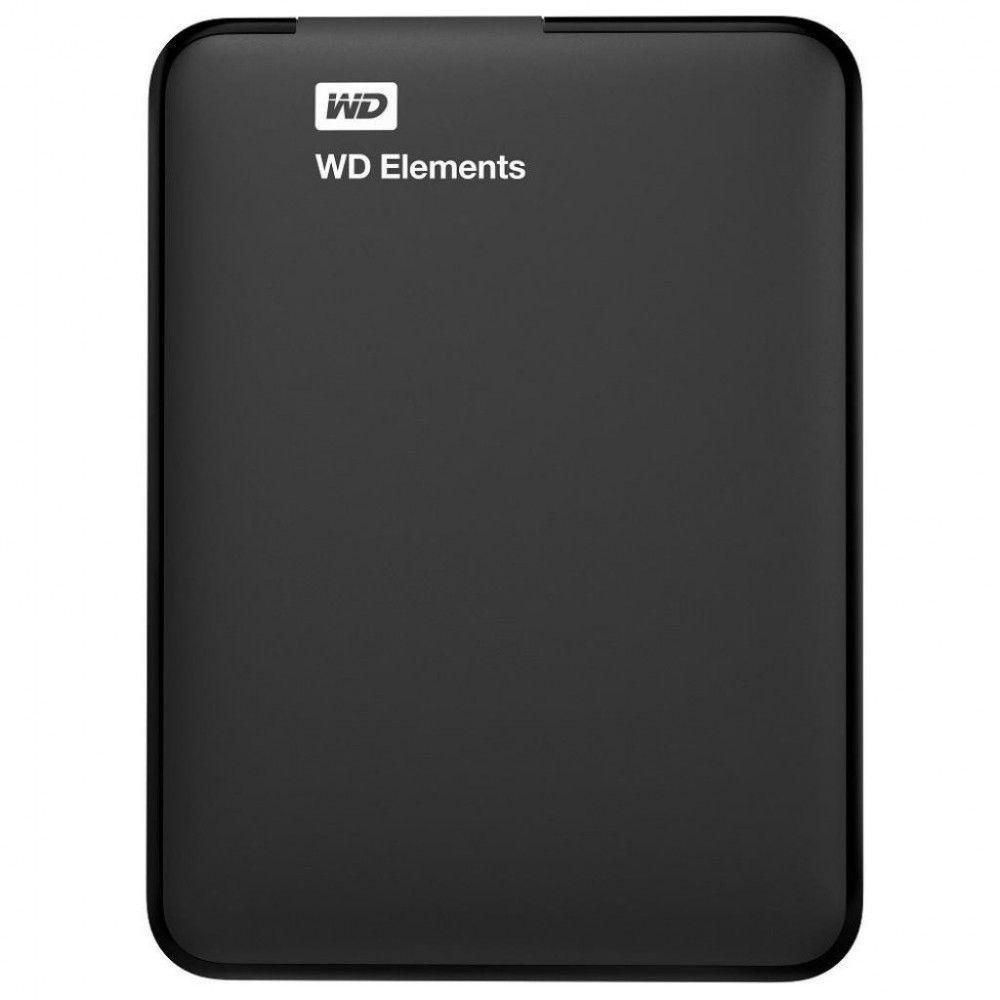 Купить Жесткие диски, Жесткий диск Western Digital Elements 2TB WDBU6Y0020BBK-WESN 2.5 USB 3.0 External Black