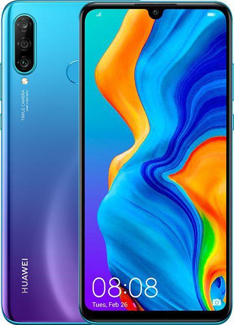 Купить Смартфоны, Смартфон HUAWEI P30 Lite 4/64GB Peacock Blue
