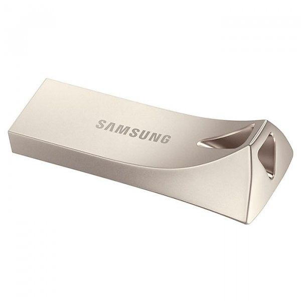 USB флеш накопитель Samsung Bar Plus USB 3.1 64GB (MUF-64BE3/APC) Silver от Територія твоєї техніки