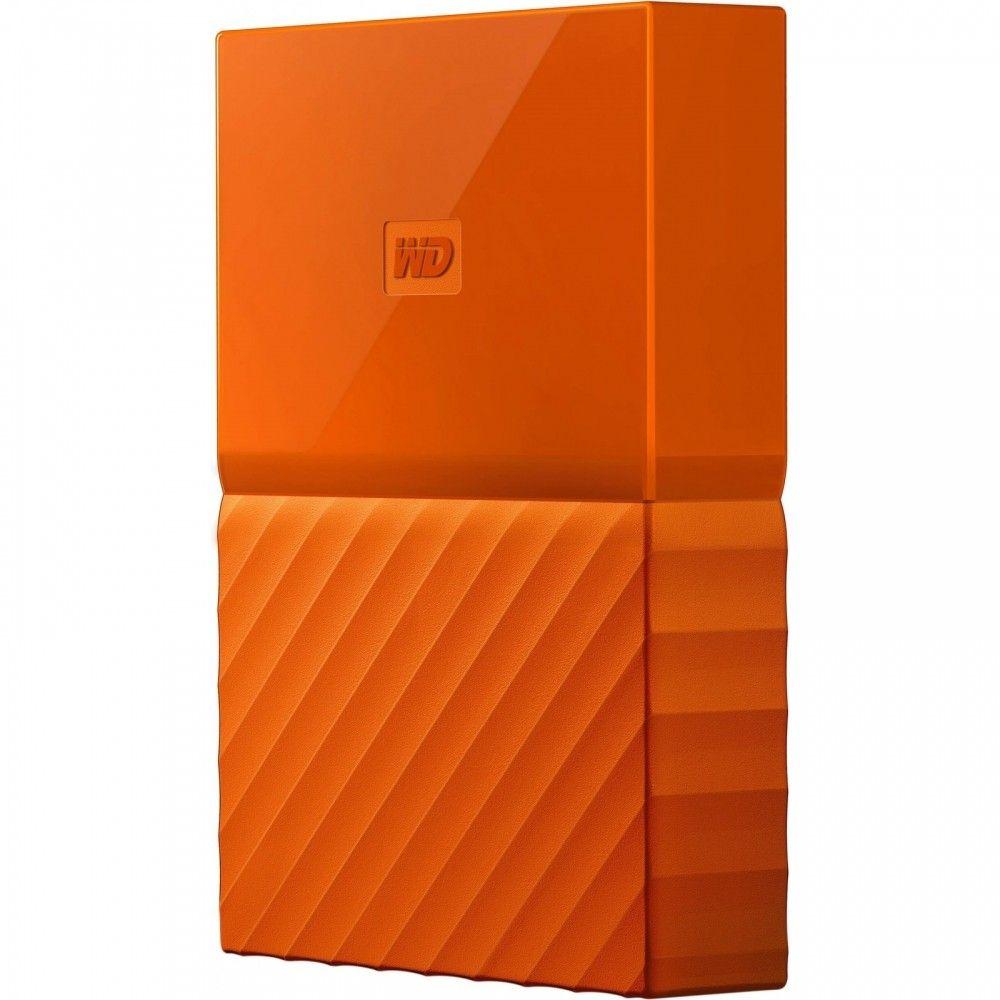 Купить Жесткие диски, Жесткий диск Western Digital My Passport 4TB WDBYFT0040BOR-WESN 2.5 USB 3.0 External Orange