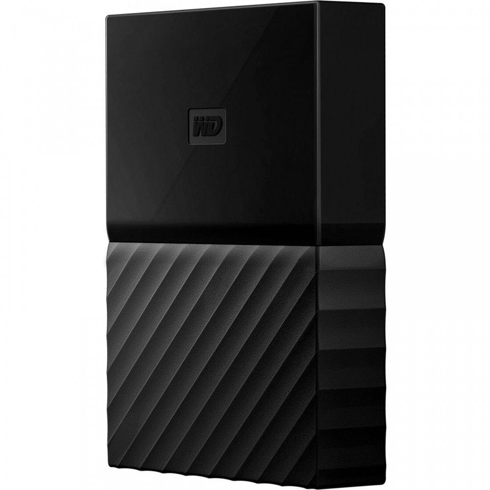 Купить Жесткие диски, Жесткий диск Western Digital My Passport 4TB WDBYFT0040BBK-WESN 2.5 USB 3.0 External Black