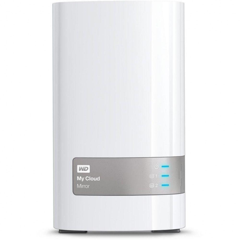 Купить Сетевой накопитель Western Digital My Cloud Mirror 12TB (WDBWVZ0120JWT-EESN)