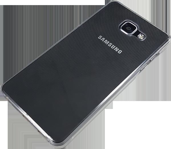 Купить Чехол-накладка Samsung Cover Case для Galaxy A7 2016 Clear (EF-AA710CTEGRU)