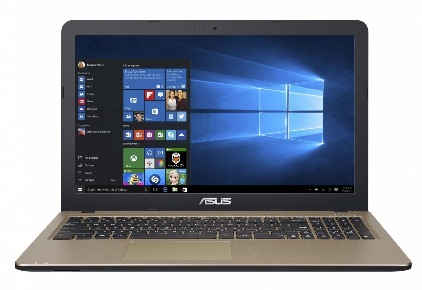Ноутбук Asus X540LA (X540LA-DM005D) Chocolate Black - 29043