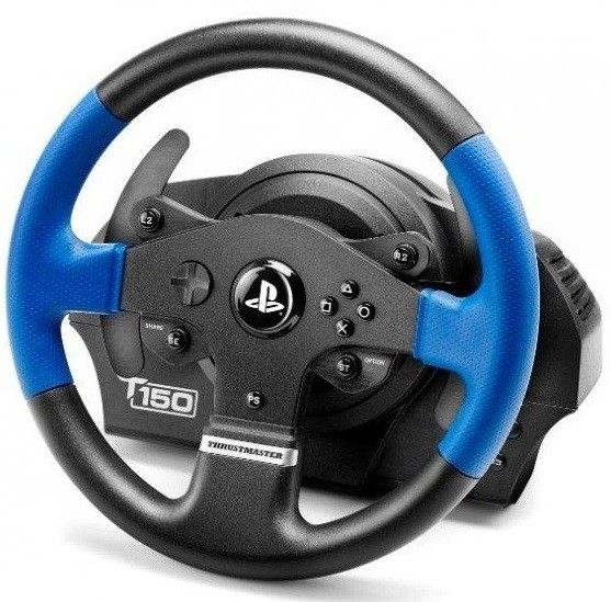 Купить Манипуляторы, джойстики, Проводной руль Thrustmaster T150 Force Feedback Official Sony licensed PC/PS4 (4160628) Black