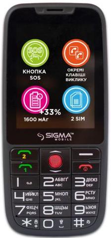 Купить Мобильный телефон Sigma mobile Comfort 50 Elegance3 Black