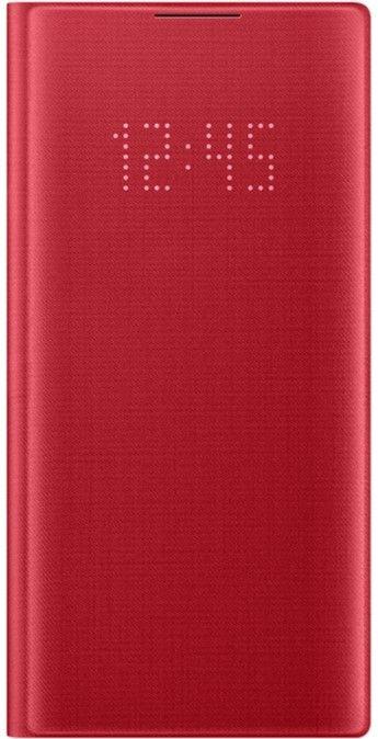 Чехол Samsung LED View Cover для Samsung Galaxy Note 10 (EF-NN970PREGRU) Red от Територія твоєї техніки