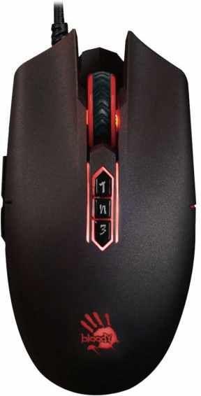 Купить Мыши, Мышь A4Tech Bloody P80 Pro USB (4711421940641) Black
