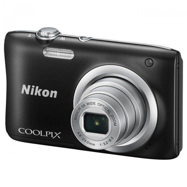 Купить Фотоаппарат Nikon Coolpix A100 Black (VNA971E1)
