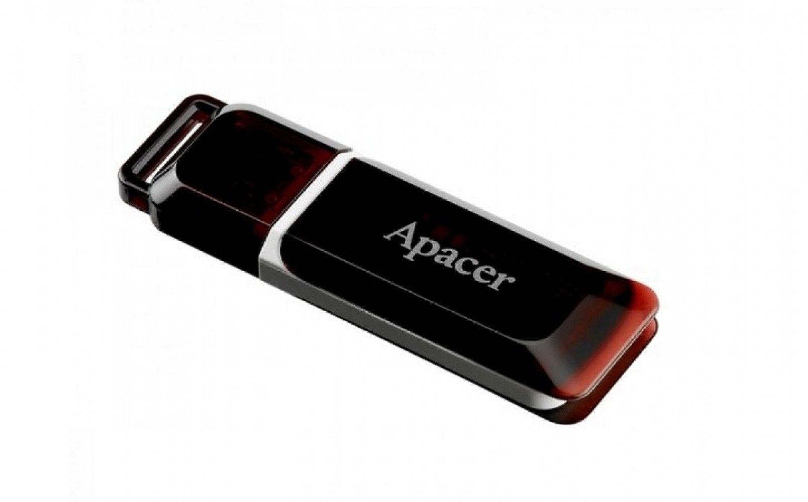 Купить USB флеш накопитель Apacer AH321 16GB Red (AP16GAH321R-1)