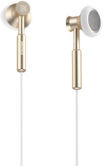 Купить Наушники и гарнитуры, Наушники Remax RM-305M Earphone Gold