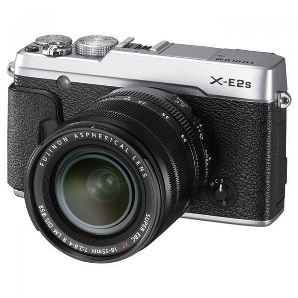Купить Фотоаппарат Fujifilm X-E2S + XF 18-55mm F2.8-4R Kit Silver (16499203)