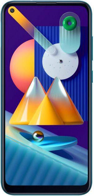 Смартфон Samsung Galaxy M11 3/32GB (SM-M115FMBNSEK) Blue от Територія твоєї техніки